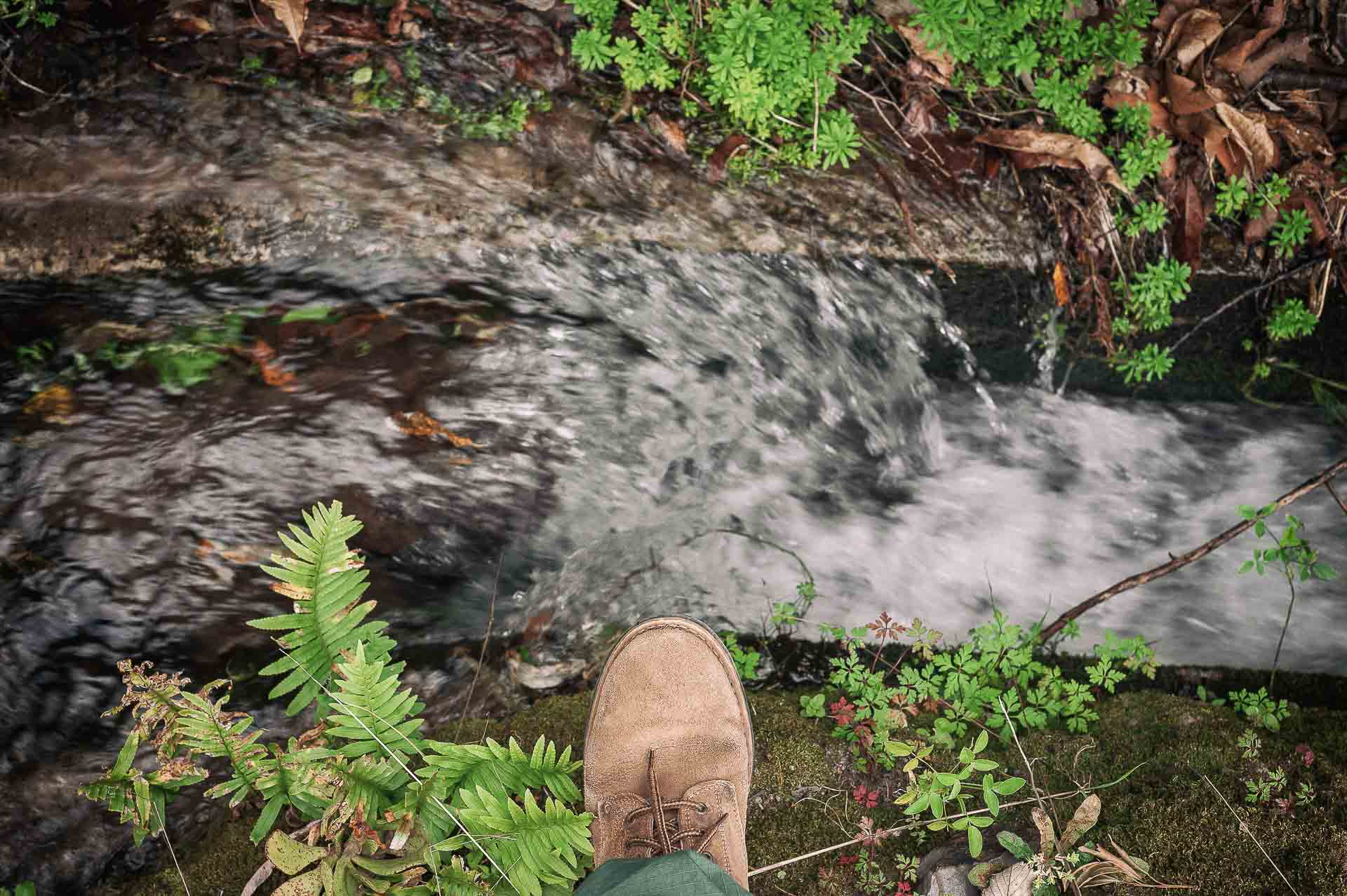 Exploring irrigation cannel